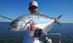 2. 11. 2015/Pere se s mořskými obludami a přitom je to holka! Fotky z bojů nyní Kateřina Švagrová, studentka Fakulty rybářství a ochrany vod JU, vystavuje