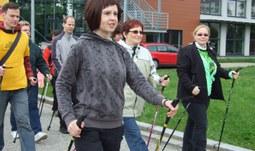21. 5. 2015/Zdravotně sociální fakulta JU pořádá Odpoledne s nordic walking