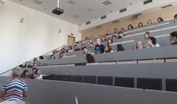 22. 8. 2017/Pětačtyřicítka cizinců se na Filozofické fakultě učí češtinu v rámci letního jazykového kurzu