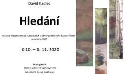 David Kadlec: Hledání