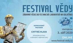 Festival vědy aneb VědaFest 2020 u vás doma