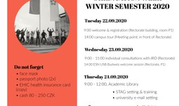Orientation Week Winter Semester 2020